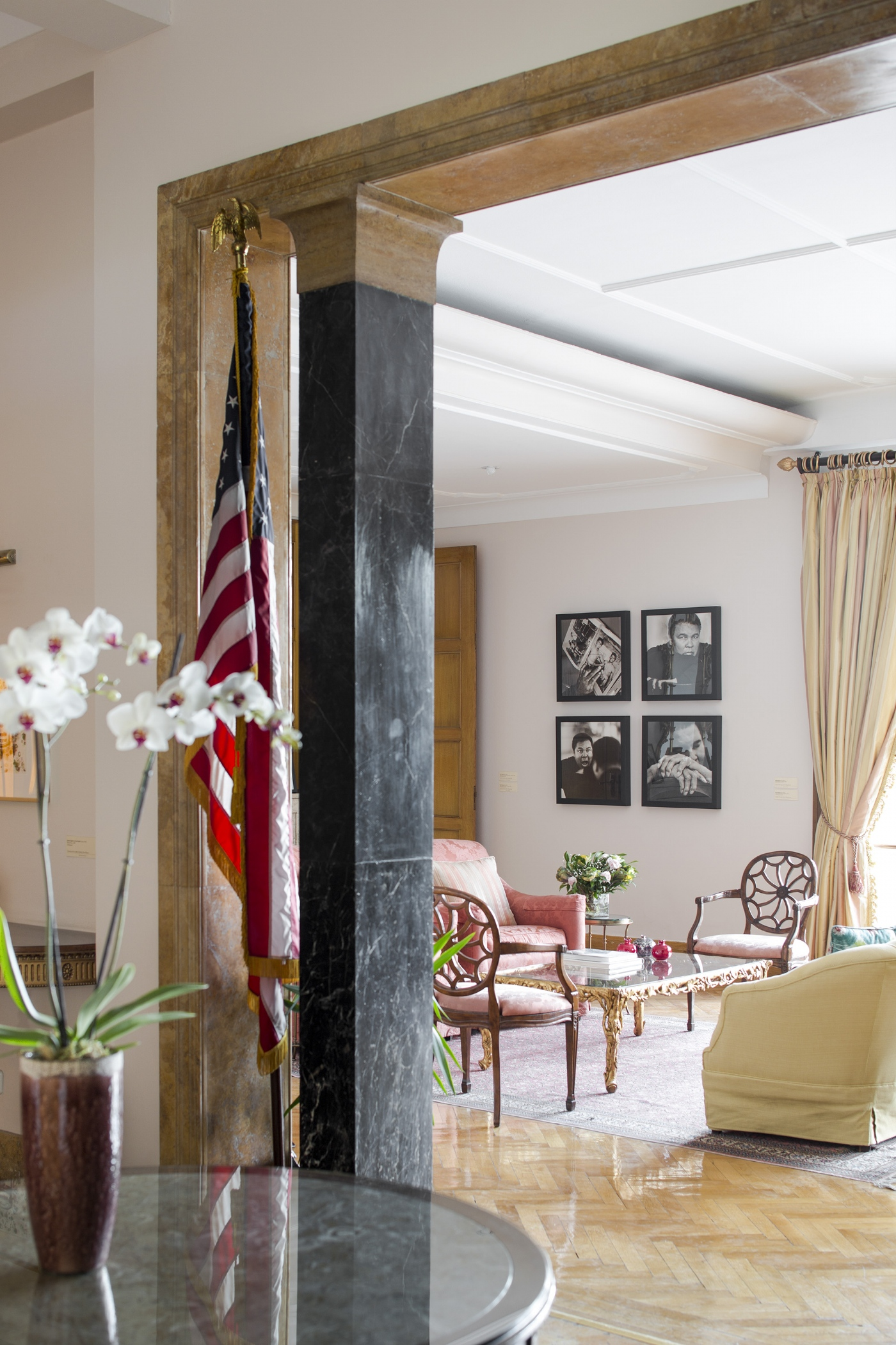 AMERICAN EMBASSY - VOGUE LIVING